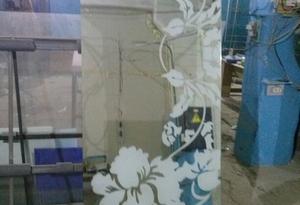 фото зеркала с пескоструйным рисунком